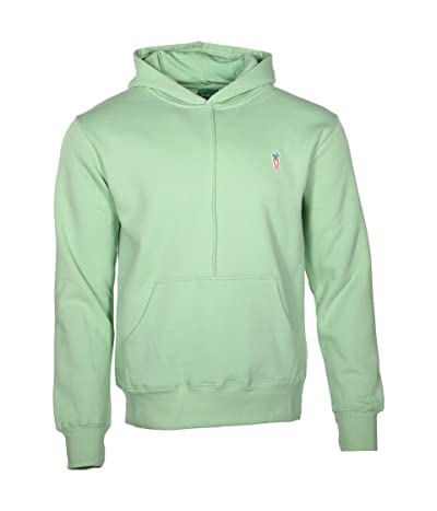 Carrots By Anwar Carrots Signature Carrot Patch Hoodie (Sage Green) Men