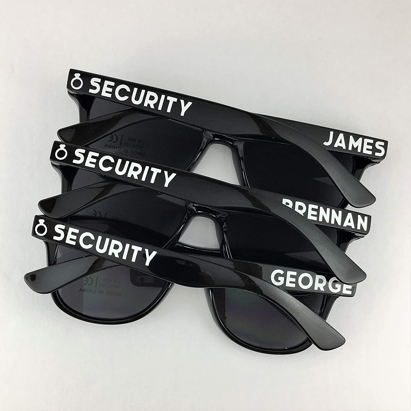 Ring Security Personalized Sunglasses - Kids Size