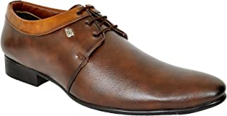 Look Style Pure Leather Brown Casual Shoe