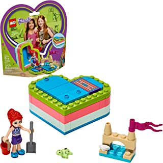 LEGO Friends Mia's Summer Heart Box 41388 Building Kit, New 2019 (85 Pieces)