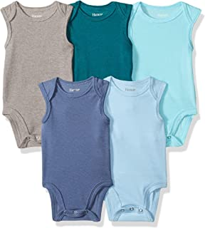 Ultimate Baby Flexy 5 Pack Sleeveless Bodysuits (Tanks)