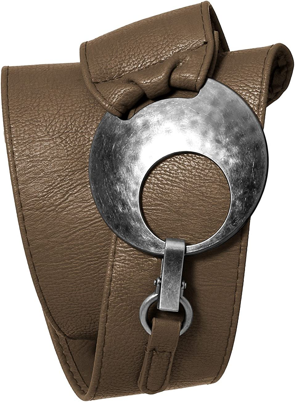 Caspar GU225 Cintur/ón Ancho para Mujer con Hebilla Grande de Metal