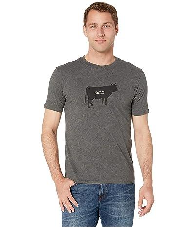 Prana Holy Cow Journeyman T-Shirt (Charcoal Heather) Men