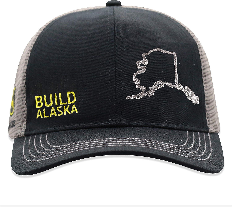 John Deere Build State Pride Cap-Black and Gray-Alaska