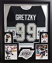 Wayne Gretzky Los Angeles Kings Autograph Signed Custom Framed Jersey Sleeved WGA Gretzky Certified