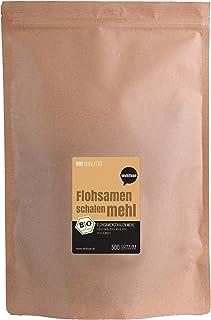 Wohltuer - harina de semillas de pulga, finamente molida, 99% de pureza 500 g