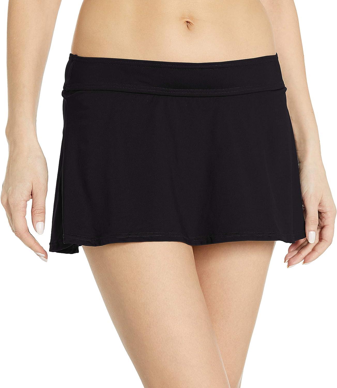 Anne Cole Women's Color Blast Solids Rock Swim Skirt Bottom