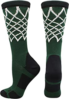 Elite Basketball Socks with Net Crew Length (Multiple Colors)