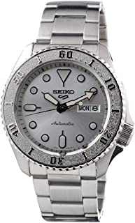 Seiko Sport 5 Facelift Automatic Stainless Steel Silver Watch SRPE71K1