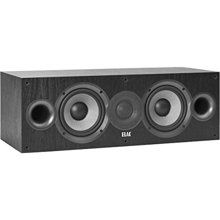 Elac Debut C5 2 2 Way Centre Speaker Black Mp3 Hifi