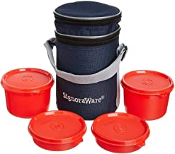 Signoraware Executive lunch Box with bag 15 cm Red