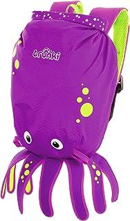 Trunki Kid's Waterproof Swim & Gym Bag – PaddlePak Inky Octopus (Purple)