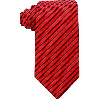 Scott Allan Mens 100/% Silk Plaid Bow Tie Black//White//Red