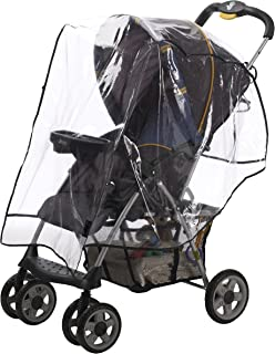 Alphabetz Stroller Rain Cover, Weather Shield, Clear, Universal Size