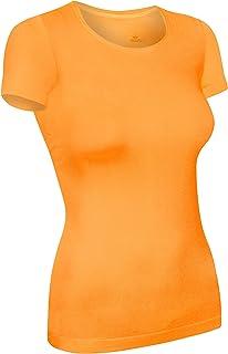 6eea9e43ead19 T-shirt de sport Assoluta à manches courtes pour femme, existe en couleurs  vert