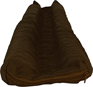 STORMGUARD 02AM0090914B Internal Cloth Under The Door Draught Excluder Seal, Brown, 914 mm, Set of 4 Pieces
