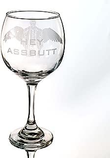 20oz Hey Assbutt Wine Glass L1