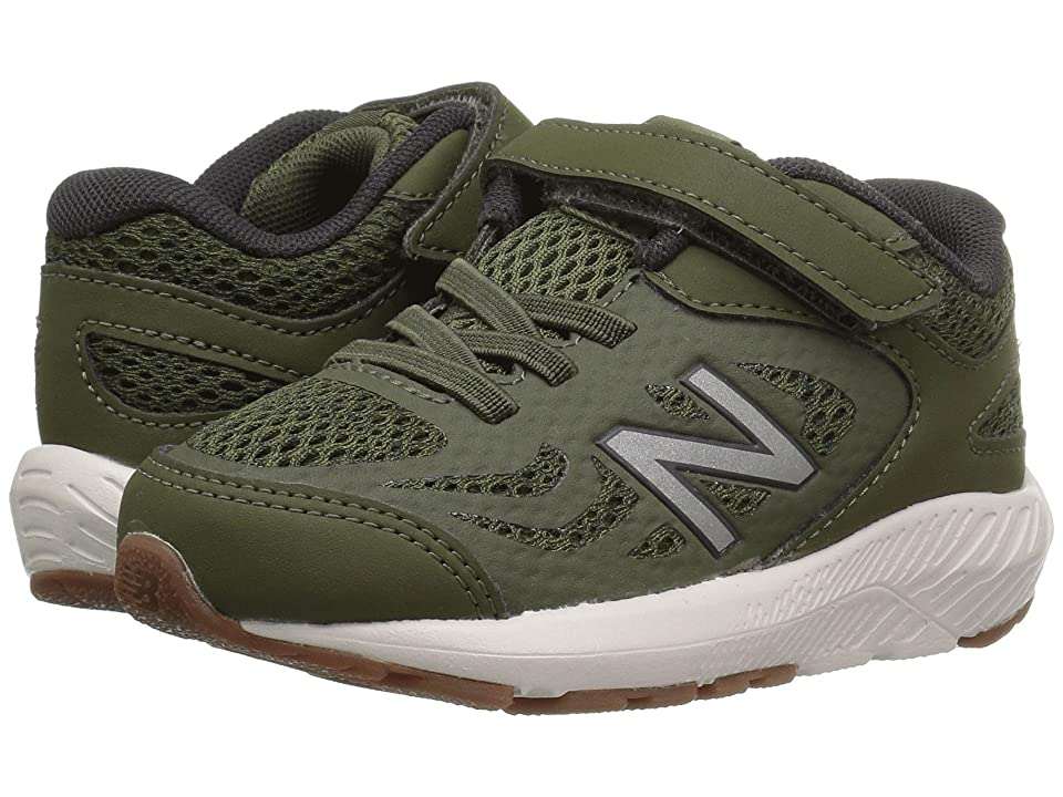 New Balance Kids KV519v1I (Infant/Toddler) (Dark Covert Green/Phantom) Boys Shoes