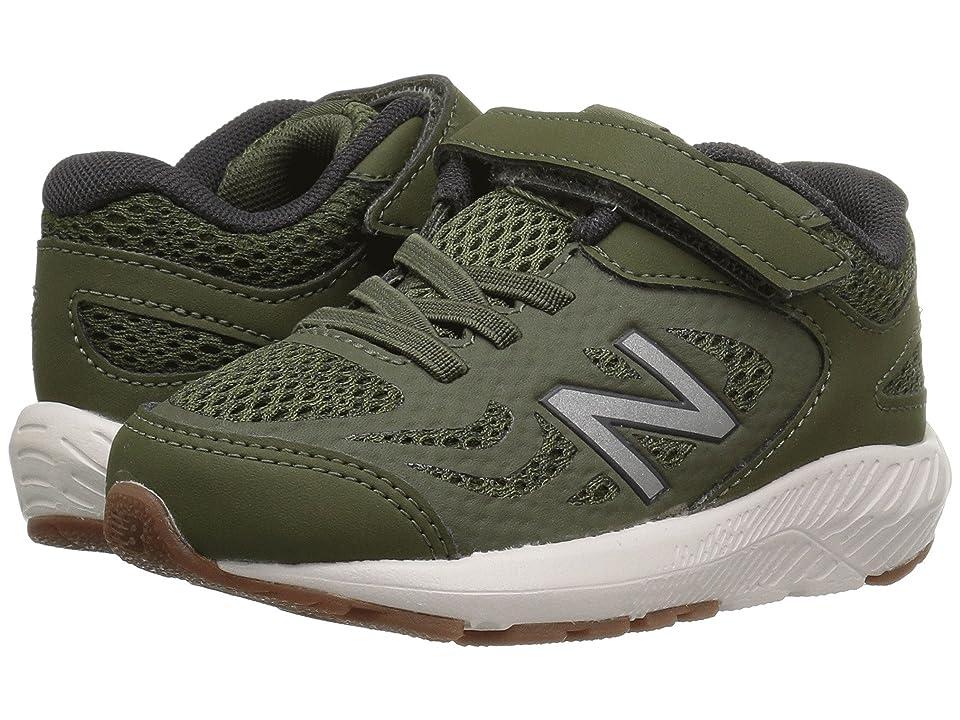 New Balance Kids KV519v1I (Infant/Toddler) (Dark Covert Green/Phantom) Boys Shoes