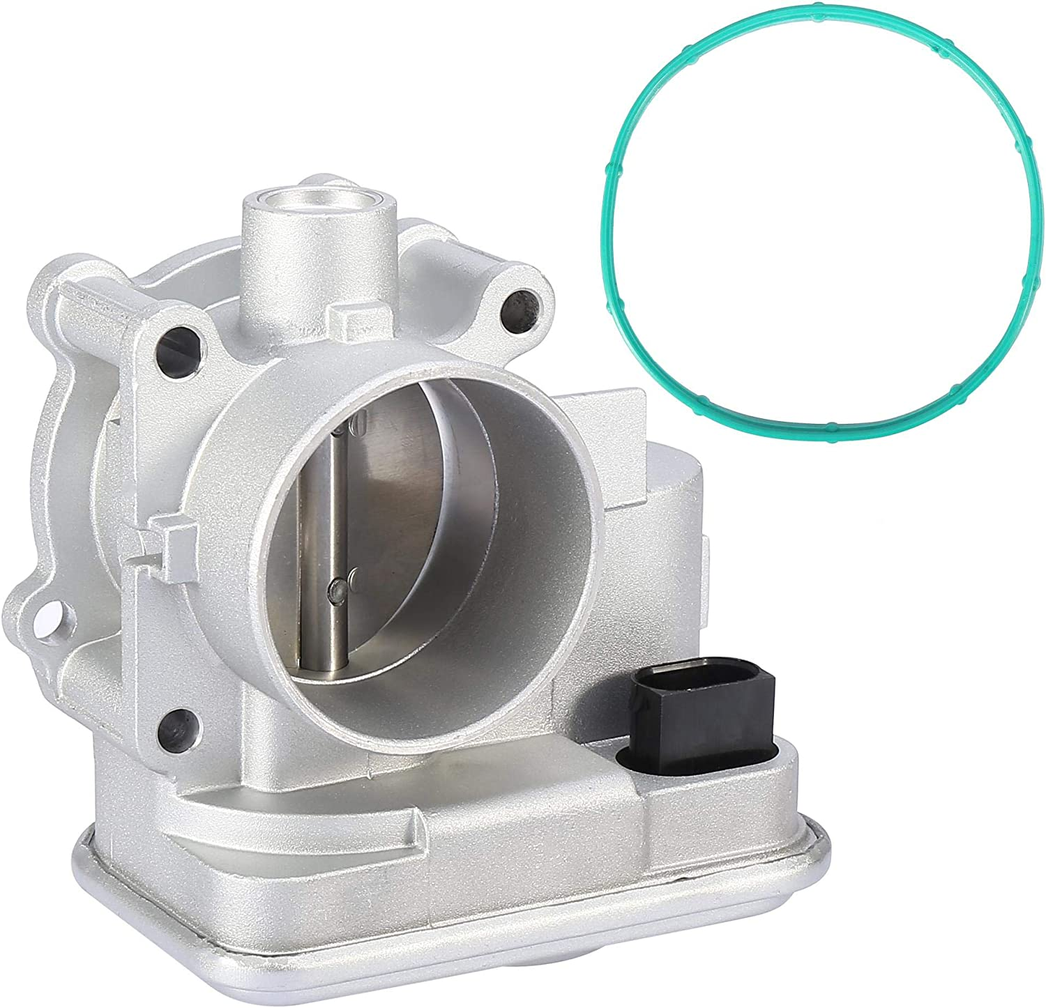 High Dedication quality new X AUTOHAUX Electronic Throttle Body TPS Assembly with Pre-assemb