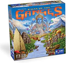 R & R Games Rajas of The Ganges Board Games, Multicolor