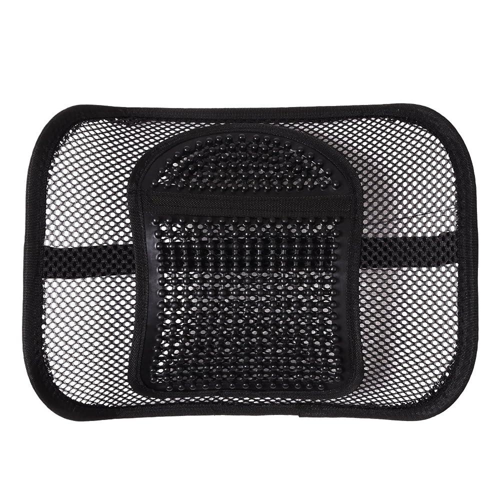 存在する謎通信網シートクッション ランバーサポート 車 椅子 腰痛予防 腰痛対策 背もたれ メッシュ オフィスチェア