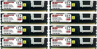 Komputerbay FB-DIMM DDR2PC2–5300F 667MHz CL5ECC 2RX4240Pin Memory with Heatspreaders 32GB (8x4GB) 667Mhz HS