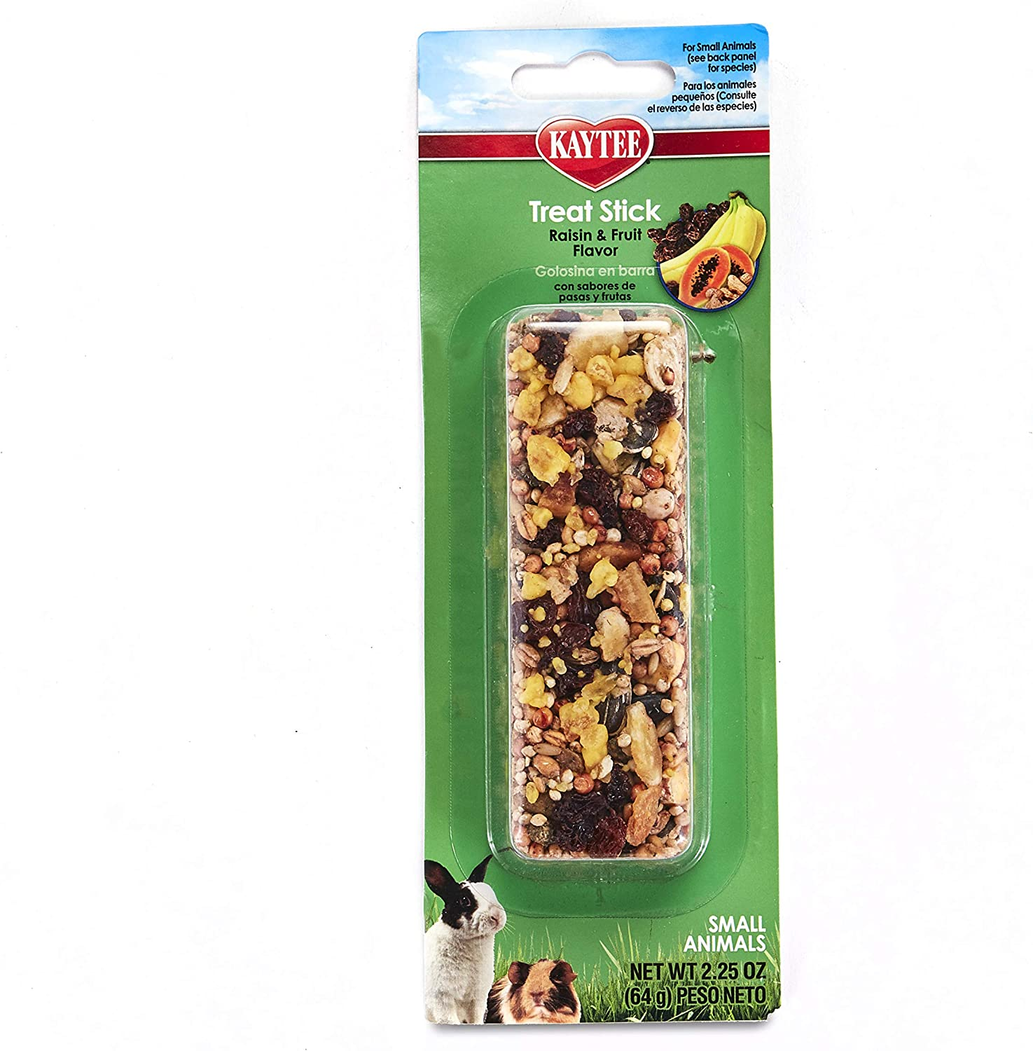 Kaytee Fiesta Fruity Raisin Treat For Animals Small Max 79% OFF Stick 2.25- 70% OFF Outlet