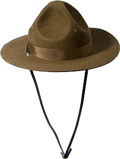 Men's Wool Felt Campaign Hat