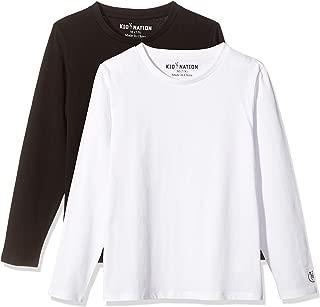 Best white long sleeve shirt boy Reviews