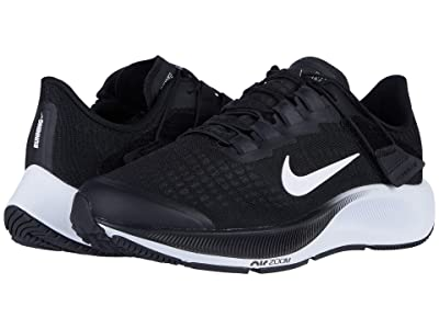 Nike Air Zoom Pegasus 37 FlyEase (Black/White/Smoke Gray) Women