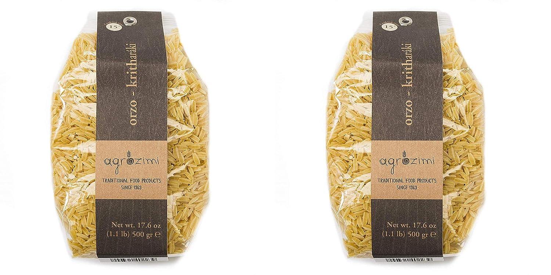 Max 56% OFF Agrozimi Traditional Kritharaki Greek Die-Cu Bronze Pasta Orzo Import