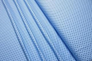 Mollipolli Jersey Little Darling - Tela (0,5 m), diseño de Mini Puntos, Color Azul