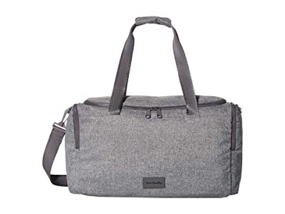 Vera Bradley ReActive Small Gym Bag (Gray Heather) Carry on Luggage
