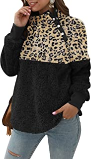 Women's Fashion Long Sleeve Zip Up Sherpa Fleece Cardigan Coat Jacket Pockets