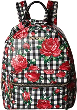 Betsey Johnson Gingham Style Backpack