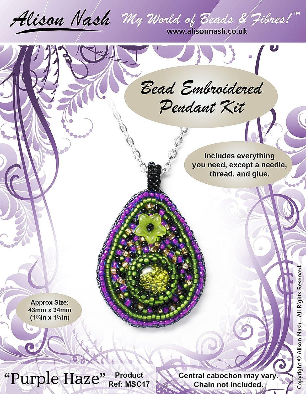 Bead Bead Bead Kit – Bead Embroiderot Pendant Kit  lila Haze  – Jewellery Making Kit B00H2IBEH6   Für Ihre Wahl  c452a5