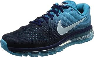big sale b8c9d cf5ed Nike Mens Air Max 2017 Low Top Lace Up Running Sneaker