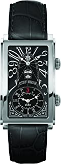 [クエルボ・イ・ソブリノス]Cuervo y Sobrinos 腕時計 紳士用 デュアルタイム 1124-1ANG メンズ 【正規輸入品】