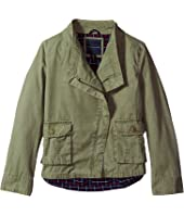 Tommy Hilfiger Kids - Cargo & Plaid Jacket (Big Kids)