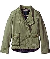 Tommy Hilfiger Kids - Cargo & Plaid Jacket (Big Kids)