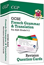 New Grade 9-1 GCSE AQA French: Grammar & Translation Revision Question Cards