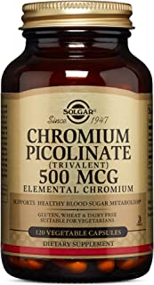 Solgar – Chromium Picolinate 500 mcg, 120 Vegetable Capsules