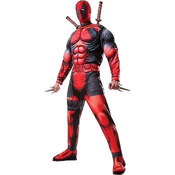 Rubies - Disfraz de Deadpool Deluxe para adulto, M (Rubies 810109 ...