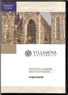 Villanova University Six Sigma Green Belt