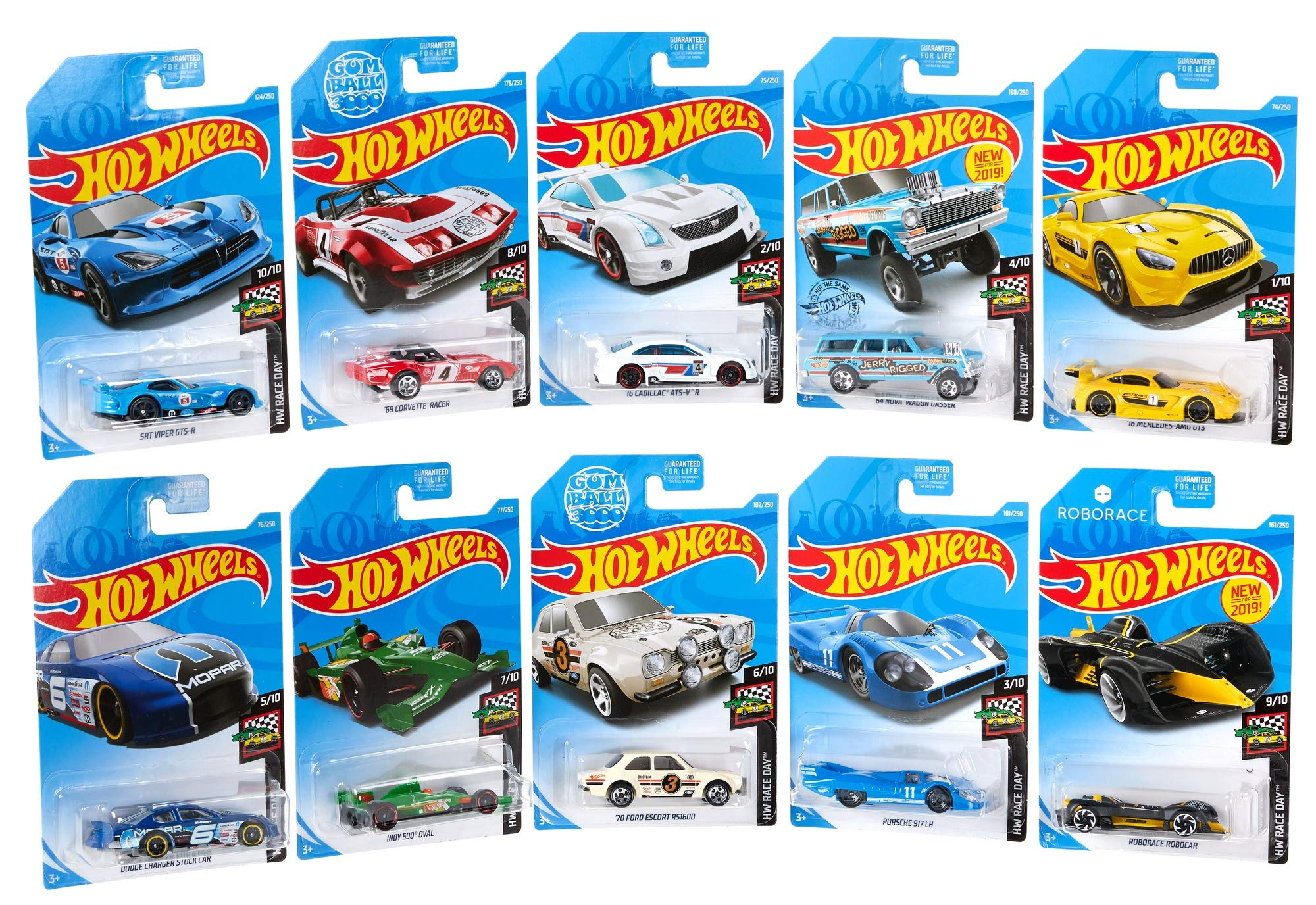 Hot Wheels Pack de Mini coches (Mattel GJK03) , color/modelo surtido: Amazon.es: Juguetes y juegos