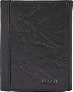 Fossil Men's Neel Leather Trifold Wallet, One Size