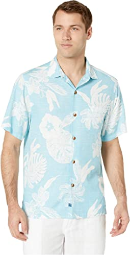 Geo Leaf Hawaiian Shirt