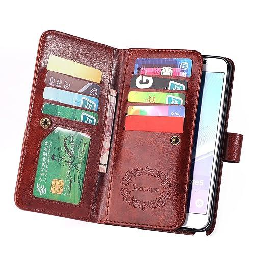 d4e5da2d6158 Note 5 Leather Wallet Case  Amazon.com