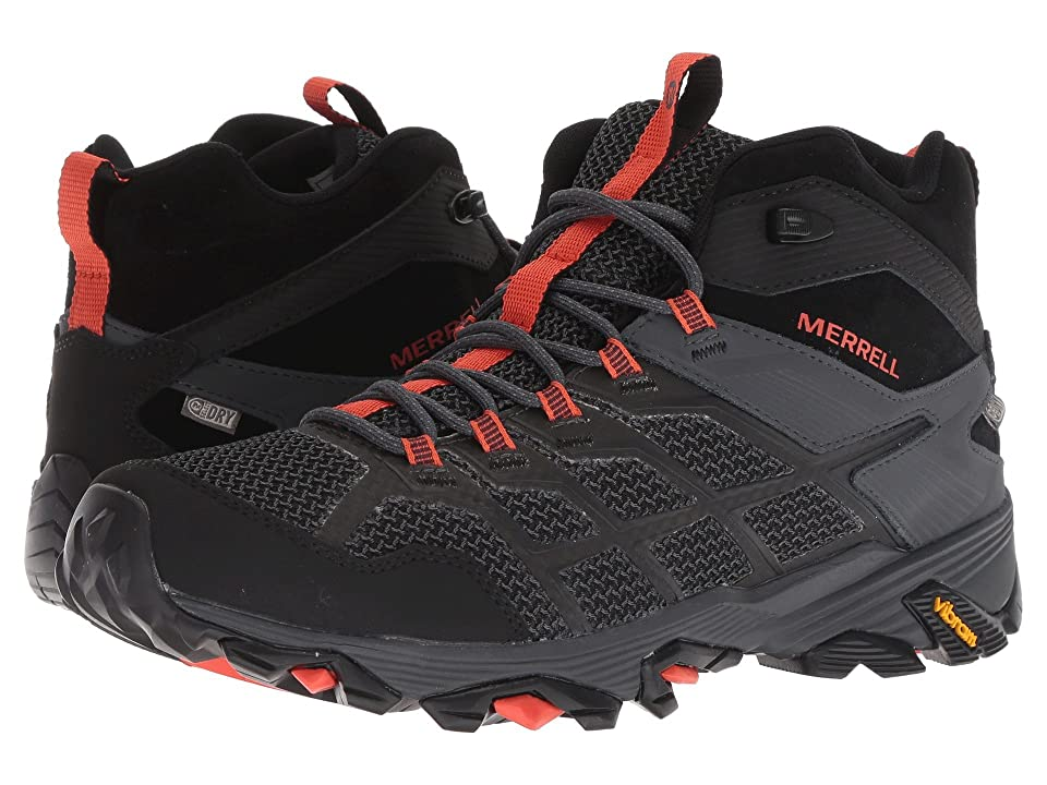 Merrell Moab FST 2 Mid Waterproof (Black/Granite) Men
